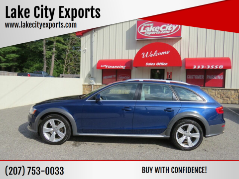 2013 Audi Allroad for sale at Lake City Exports - Lewiston in Lewiston ME