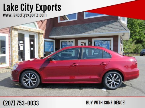 2016 Volkswagen Jetta for sale at Lake City Exports in Auburn ME