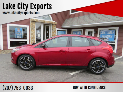 2014 Ford Focus for sale at Lake City Exports in Auburn ME