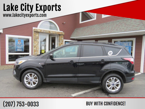 2018 Ford Escape for sale at Lake City Exports in Auburn ME
