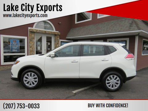 2015 Nissan Rogue for sale at Lake City Exports in Auburn ME