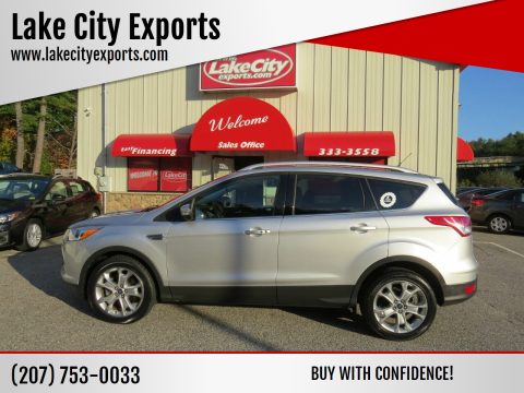 2016 Ford Escape for sale at Lake City Exports in Auburn ME