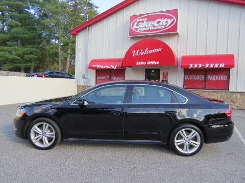 2014 Volkswagen Passat for sale at Lake City Exports - Lewiston in Lewiston ME