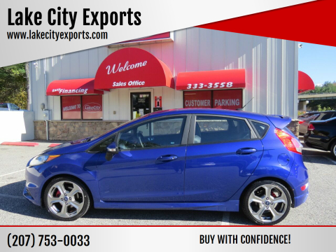 2015 Ford Fiesta for sale at Lake City Exports - Lewiston in Lewiston ME