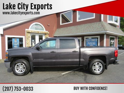 2014 Chevrolet Silverado 1500 for sale at Lake City Exports in Auburn ME