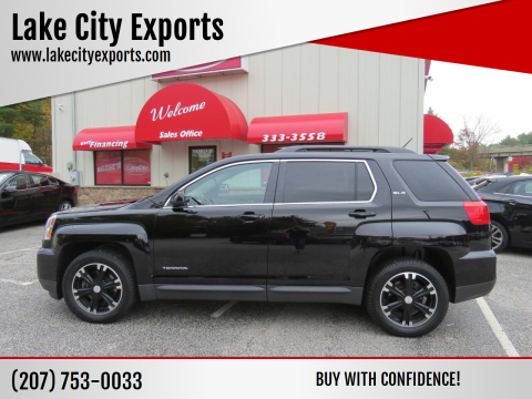 2017 GMC Terrain for sale at Lake City Exports - Lewiston in Lewiston ME