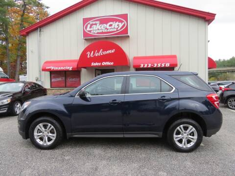 2016 Chevrolet Equinox for sale at Lake City Exports - Lewiston in Lewiston ME