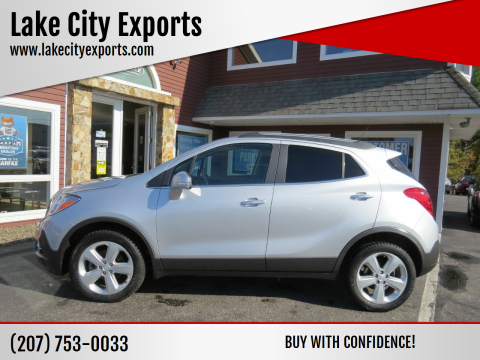 2015 Buick Encore for sale at Lake City Exports in Auburn ME