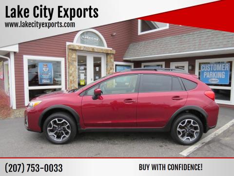2017 Subaru Crosstrek for sale at Lake City Exports in Auburn ME