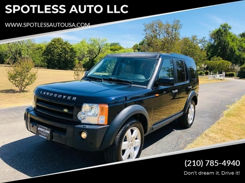 2008 Land Rover LR3 for sale in San Antonio, TX