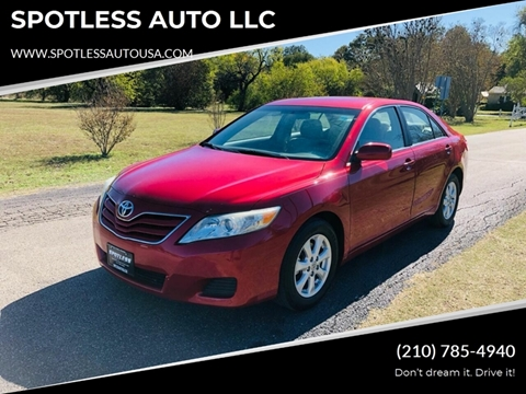 2011 Toyota Camry for sale in San Antonio, TX