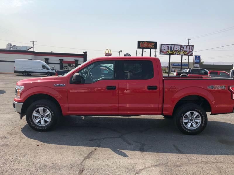 2018 ford f 150 xlt in yakima wa better all auto sales for Betterall motors yakima wa