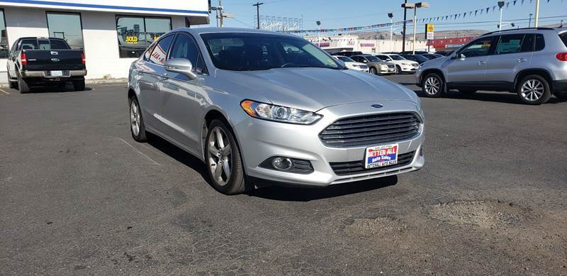 2016 Ford Fusion for sale at Better All Auto Sales in Yakima WA