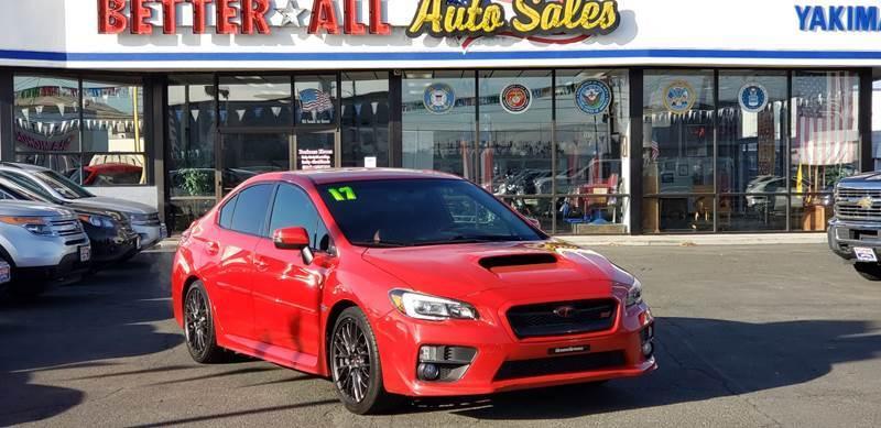 2017 Subaru WRX for sale at Better All Auto Sales in Yakima WA