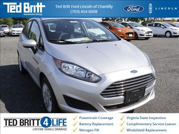 2016 Ford Fiesta for sale in Chantilly, VA