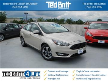 2017 Ford Focus for sale in Chantilly, VA