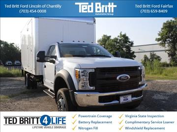 2017 Ford F-550SD