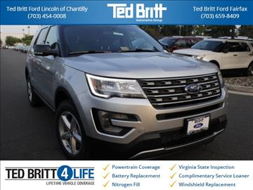 2017 Ford Explorer for sale in Chantilly, VA