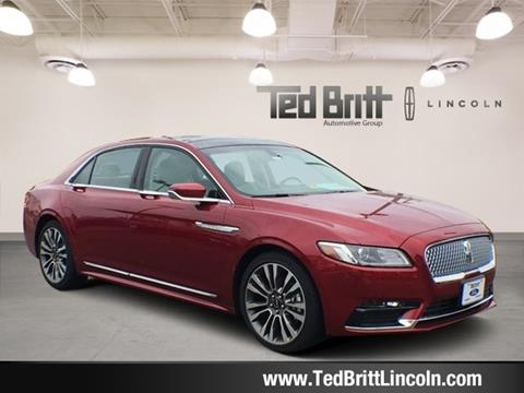 2017 Lincoln Continental for sale in Chantilly, VA