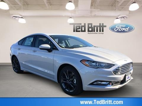 2018 Ford Fusion for sale in Chantilly, VA