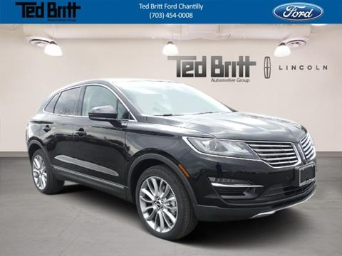Ted Britt Ford Chantilly >> Lincoln MKC For Sale in Virginia - Carsforsale.com®