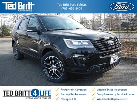 2019 Ford Explorer for sale in Chantilly, VA