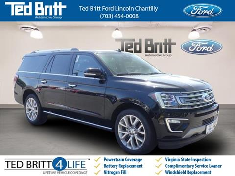 2018 Ford Expedition MAX for sale in Chantilly, VA