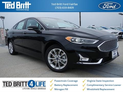 2019 Ford Fusion Energi for sale in Chantilly, VA