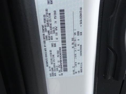 2019 Ford Transit Cutaway