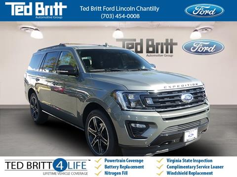 2019 Ford Expedition for sale in Chantilly, VA