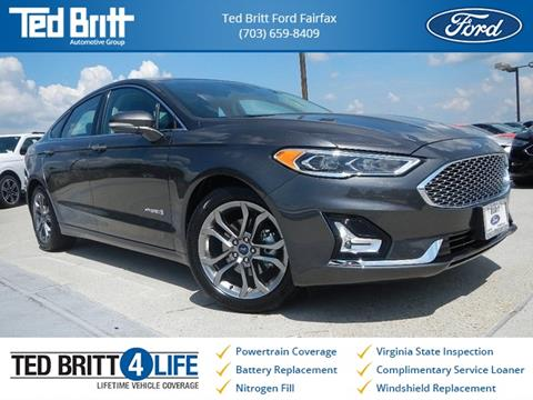 2019 Ford Fusion Hybrid for sale in Chantilly, VA