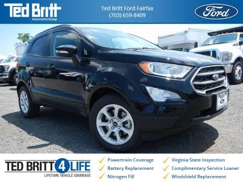 2019 Ford EcoSport SE for sale at Ted Britt Ford Lincoln in Chantilly VA