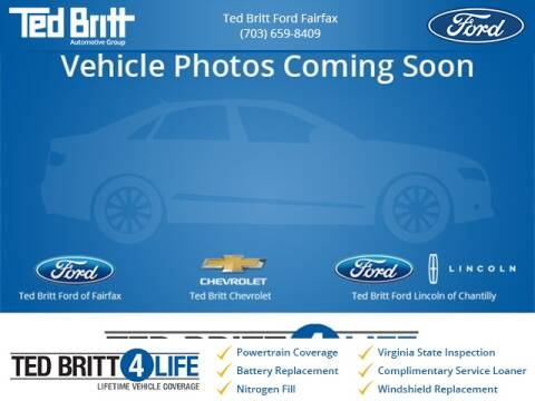 2017 Ford Escape Titanium for sale at Ted Britt Ford Lincoln in Chantilly VA