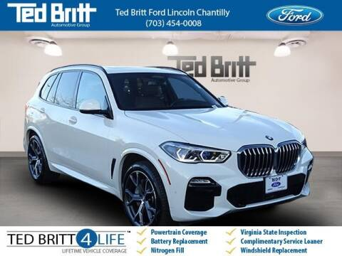 2019 BMW X5 xDrive50i for sale at Ted Britt Ford Lincoln in Chantilly VA