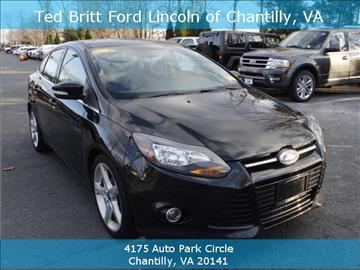 2013 Ford Focus for sale in Chantilly, VA