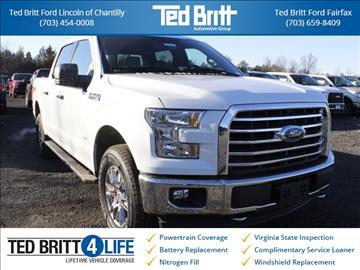 2017 Ford F-150 for sale in Chantilly, VA
