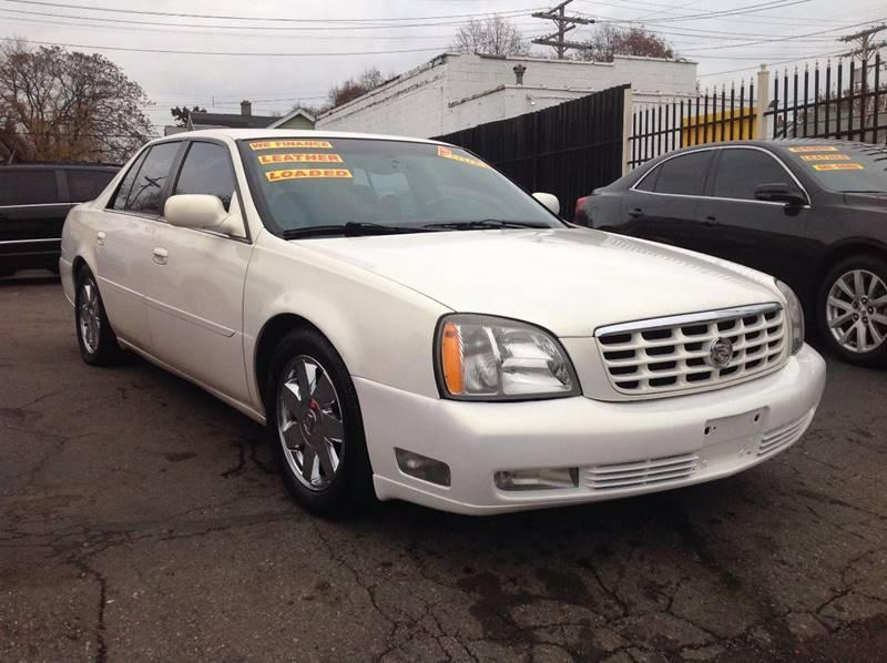 2004 Cadillac Deville car for sale in Detroit