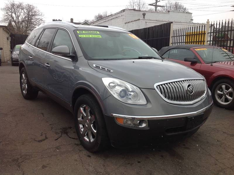 used for sale carfax enclave cxl with photos buick