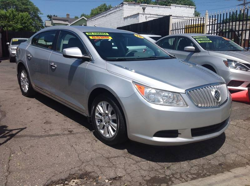 2010 Buick Lacrosse car for sale in Detroit