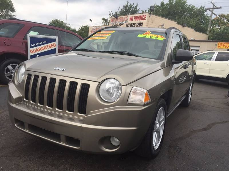 Attractive 2007 Jeep Compass For Sale At Special Way Auto In Hamtramck MI