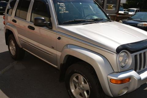 2002 Jeep Liberty for sale in Scranton, PA