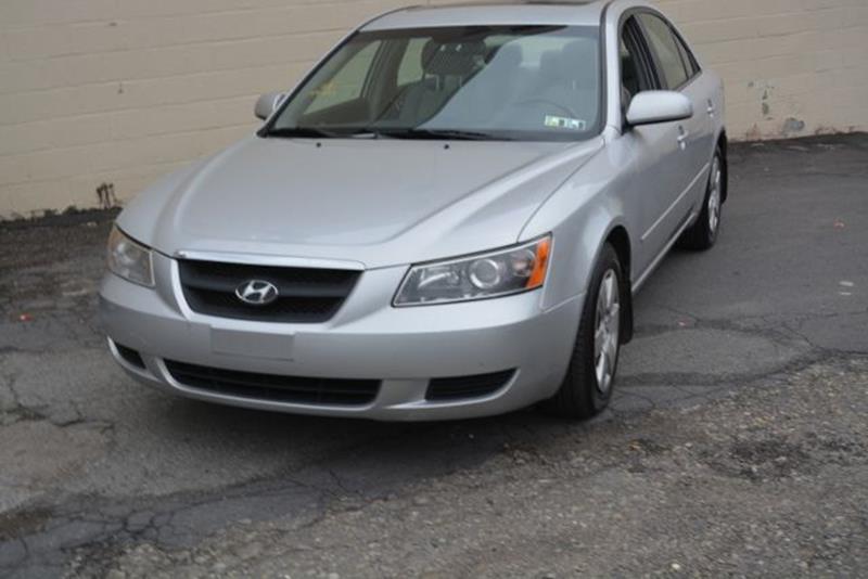 2008 Hyundai Sonata For Sale At CASTLE AUTO AUCTION INC. In Scranton PA