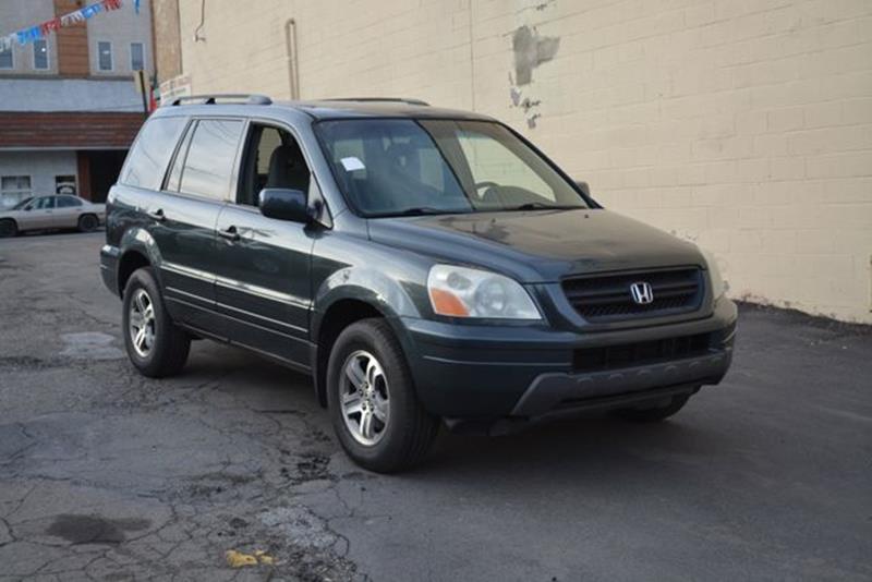 2003 Honda Pilot For Sale At CASTLE AUTO AUCTION INC. In Scranton PA