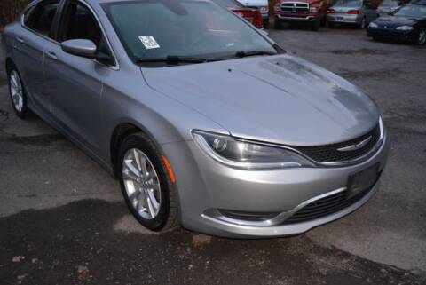 2015 Chrysler 200 Limited for sale at CASTLE AUTO AUCTION INC. in Scranton PA