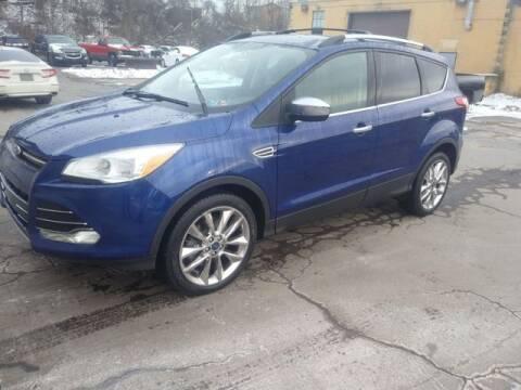 2015 Ford Escape SE for sale at CASTLE AUTO AUCTION INC. in Scranton PA