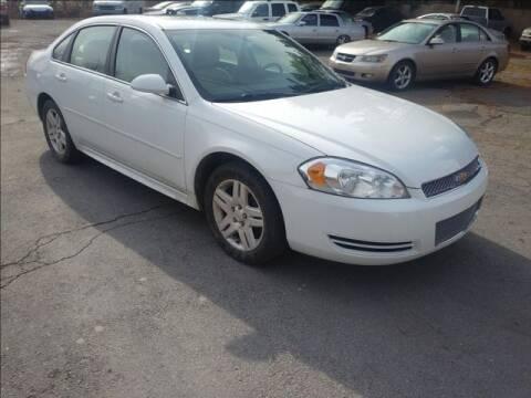 2014 Chevrolet Impala Limited LT Fleet for sale at CASTLE AUTO AUCTION INC. in Scranton PA