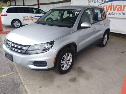 2013 Volkswagen Tiguan for sale at CASTLE AUTO AUCTION INC. in Scranton PA