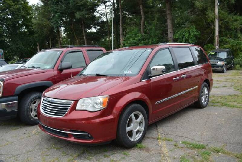 2011 Chrysler Town and Country for sale at CASTLE AUTO AUCTION INC. in Scranton PA