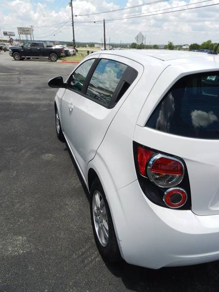 2012 Chevrolet Sonic LS 4dr Hatchback w/2LS - Boerne TX