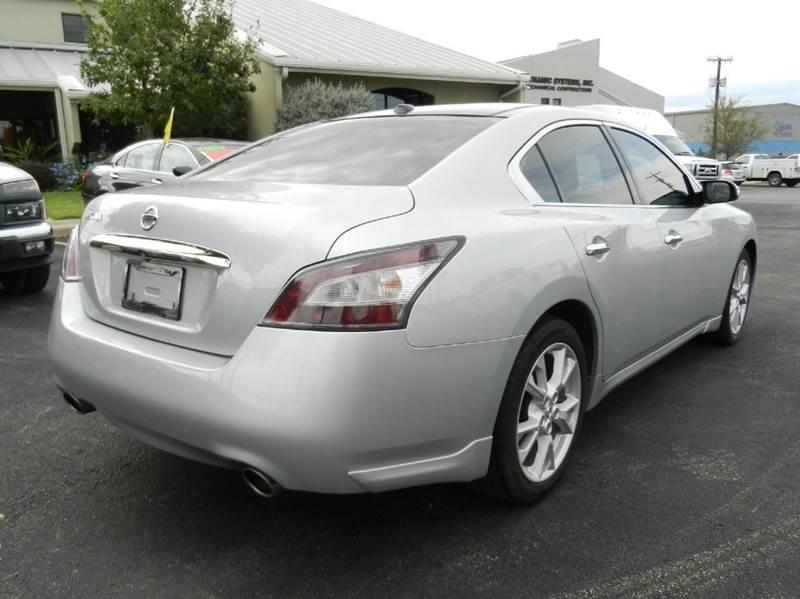 2012 Nissan Maxima 3.5 SV 4dr Sedan Premium - Boerne TX